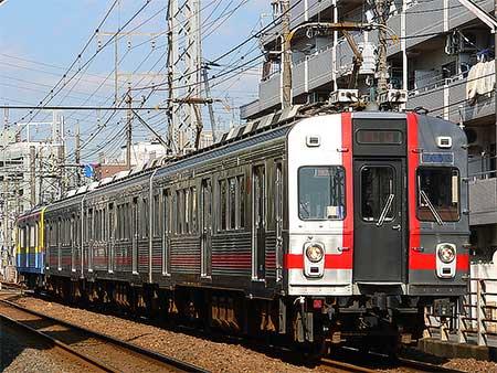 東急7600系7603編成が長津田検車区へ