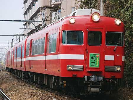 名鉄7700系に記念系統板