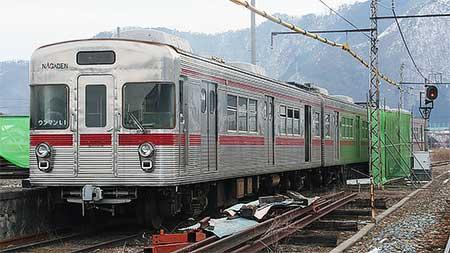 長野電鉄3600系L1編成が解体へ