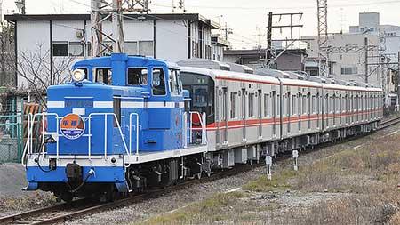 名古屋市交通局6050形が甲種輸送される