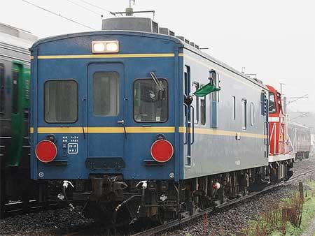 マヤ34 2009が松浦鉄道に入線