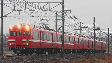 名鉄7700系が定期運用を離脱