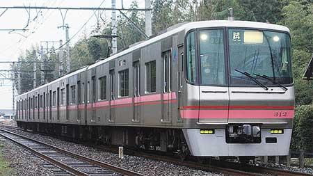 名鉄300系が広見線で試運転