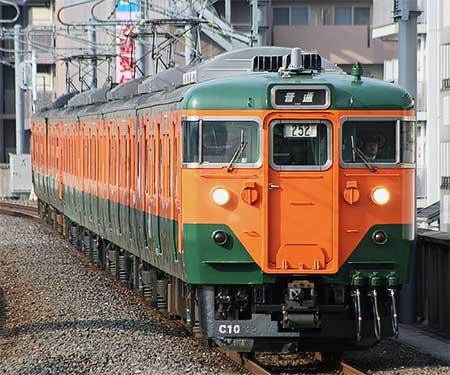 嵯峨野線から113系が撤退