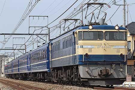 12系が仙台へ回送される