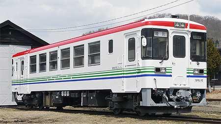 りくべつ鉄道CR75-101が塗装修繕実施