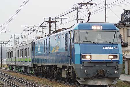 東京都交通局10-300形増備車の甲種輸送