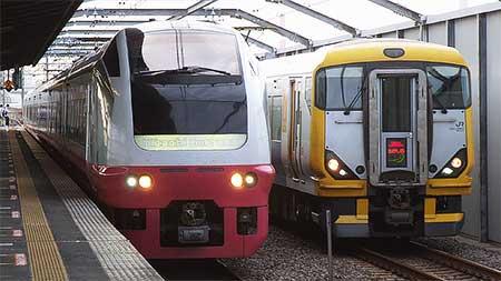 E653系K305編成が京葉線へ入線