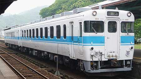 キハ65もと「エーデル鳥取」が後藤総合車両所へ