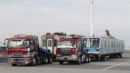 東京メトロ05系3両が近畿車輌へ