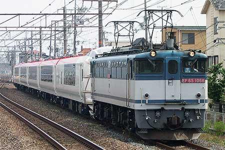 E259系NE022編成が甲種輸送される