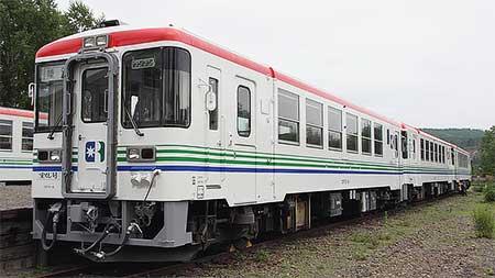 りくべつ鉄道CR70-8,塗装修繕実施