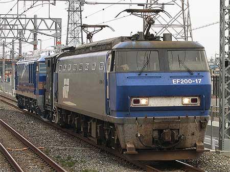 EF510-508が甲種輸送される