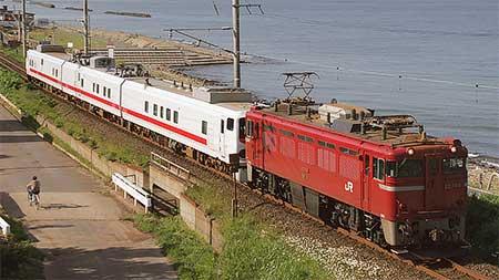 キヤE193系「East i-D」,北海道内検測を終えて返却される