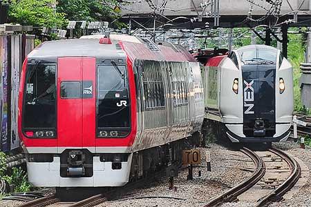 """253系が""""成田エクスプレス""""から撤退"""