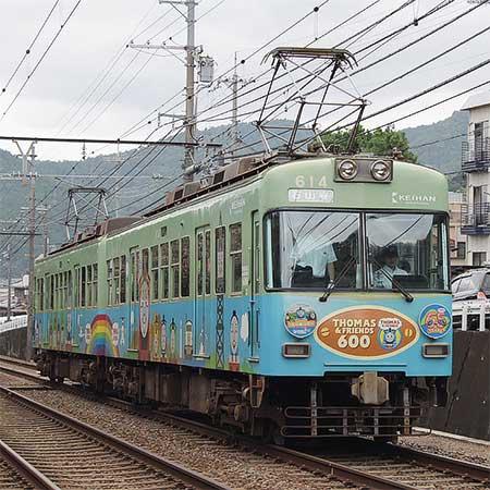京阪「きかんしゃトーマス号2009」がラストラン
