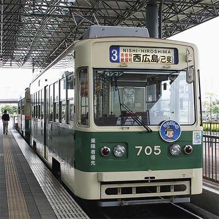 広島電鉄で「七夕電車」運転