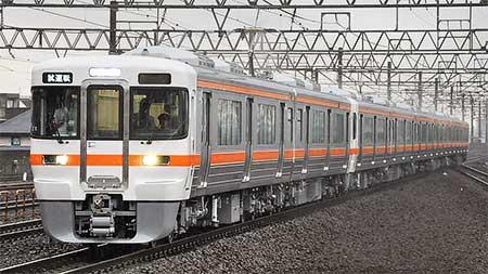 313系Z1編成+Y113編成が日本車輌から出場
