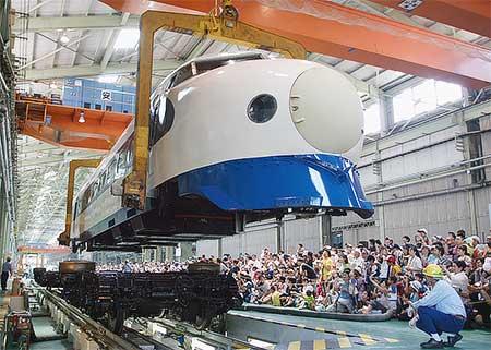 『浜松工場 新幹線なるほど発見デー』開催