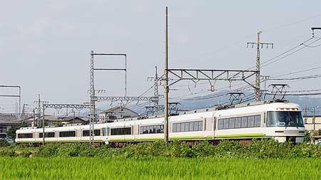 近鉄26000系が臨時特急として近鉄長野線に初入線