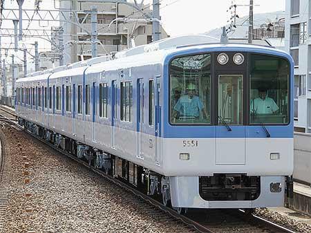阪神5550系が日中試運転