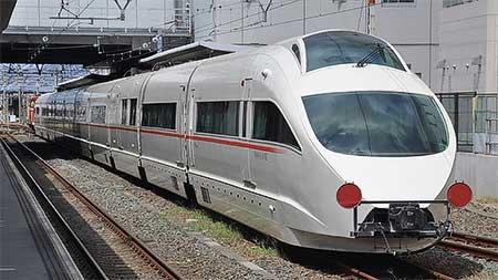 小田急50000形「VSE」が日本車輌へ入場