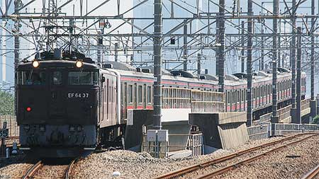 205系ケヨ5編成が長野総合車両センターへ