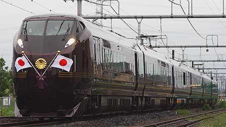 E655系を使用したお召列車が内房線・京葉線で運転される