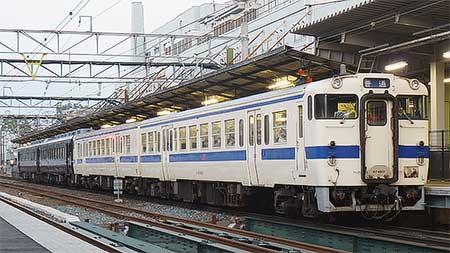「あそ1962」団臨で定期列車と併結