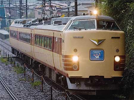 485系DK-9編成(国鉄色)が門司港へ