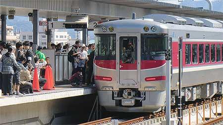 キハ189系,神戸駅と姫路駅で展示会