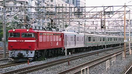 701系6両が仙台から秋田へ