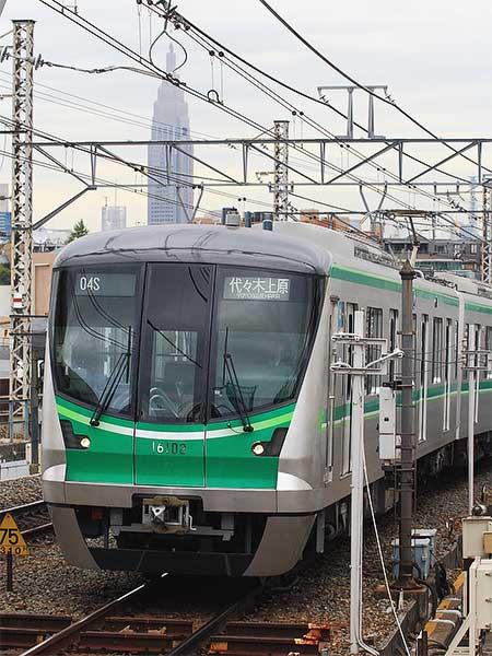 東京メトロ16000系が営業運転を開始