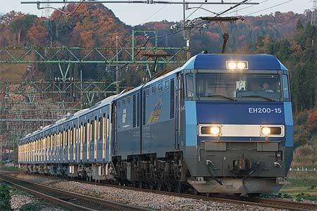 小田急4000形が新津から甲種輸送される