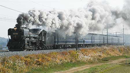 D51 498+12系が上越線で試運転