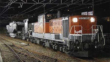 中央本線・名古屋港線で特大貨物列車運転