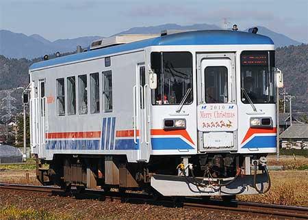 長良川鉄道「NAGARA CHRISTMAS TRAIN」運転