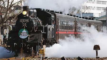 真岡鐵道で「サンタトレイン2010」運転