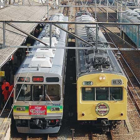 秩父鉄道熊谷駅でミニイベント開催