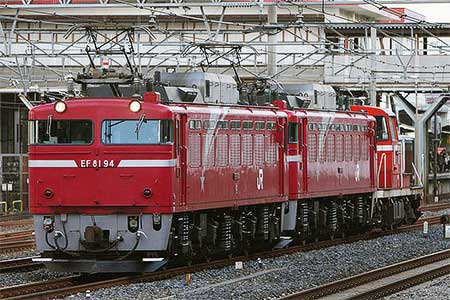 EF81 94,EF81 78,DE10 1129が秋田へ