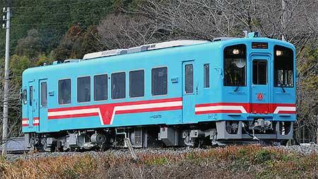 樽見鉄道ハイモ330-701が試運転