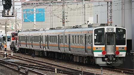 JR東海213系5000番台が近畿車輌へ