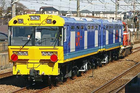 東海道新幹線ロングレール輸送用動力車が甲種輸送される