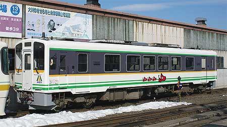 会津鉄道AT-500形が塗色変更