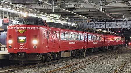 JR九州の485系が定期運用から離脱