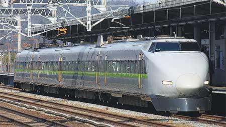 100系新幹線P編成が運用離脱