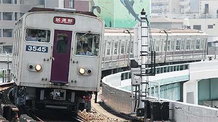 大阪市交30系3045編成が試運転を実施