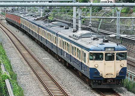 113系マリ218編成+マリ117編成,長野総合車両センターへ