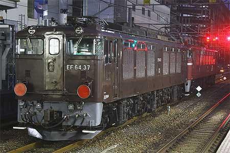 EF64 37が秋田総合車両センターへ