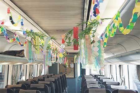 北近畿タンゴ鉄道で「たなばた列車」運転